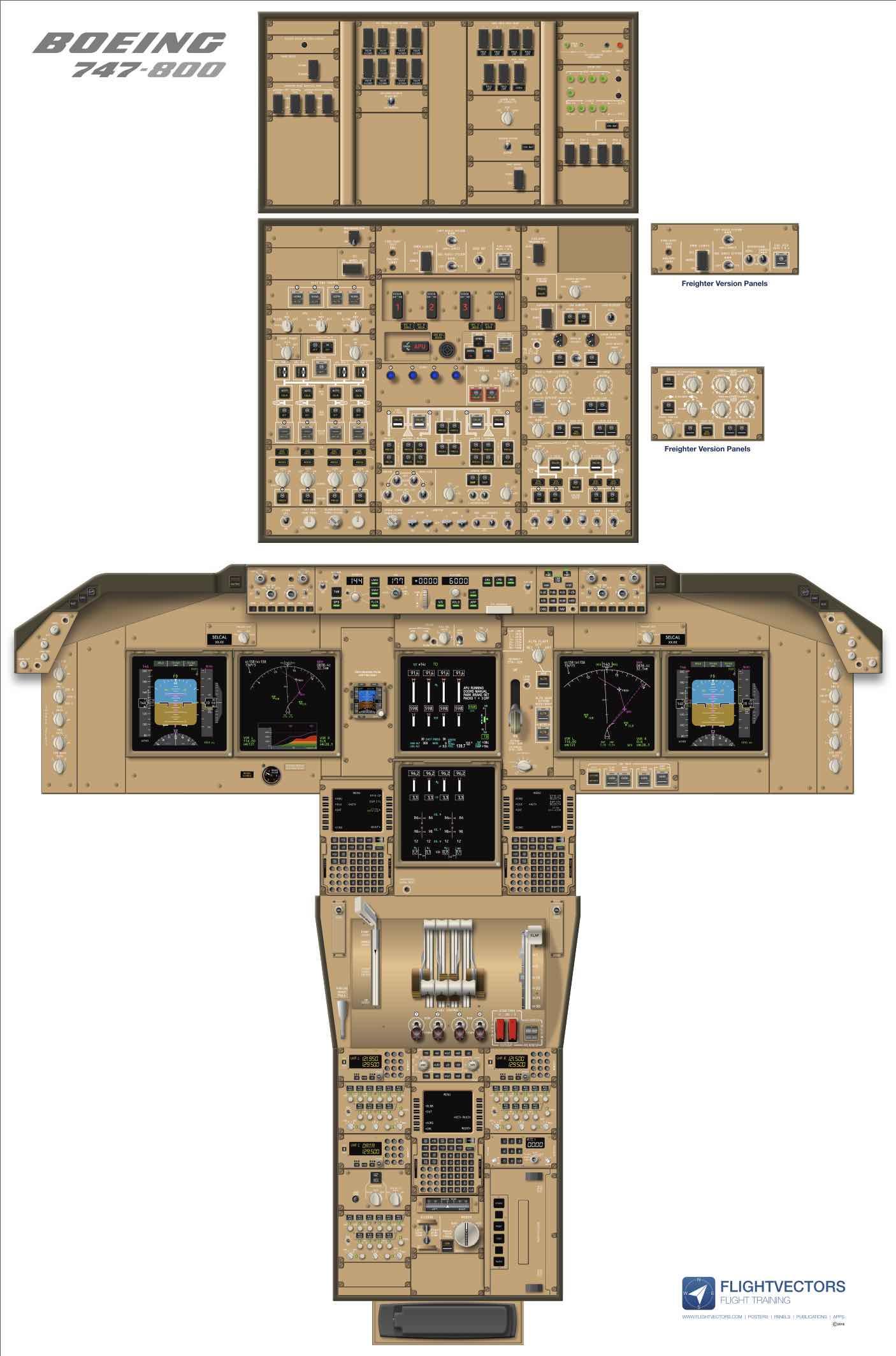 B747-800 Freighter